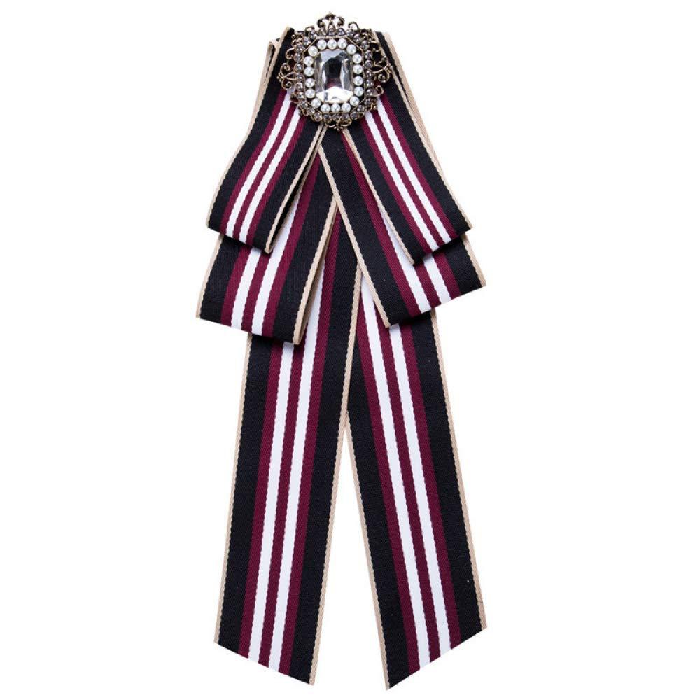 WYZGZNA Broche de Pajarita broches para Mujer Corbata de Lazo ...