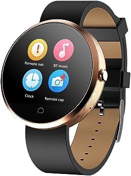 Haier Smartwatch G6 Pulsera con Pantalla T¨¢ctil Selfie Anti Perderse con Bluetooth conectable con Smartphone llamada Sync, Music Sync, mensaje recordatorio, anti: Amazon.es: Electrónica