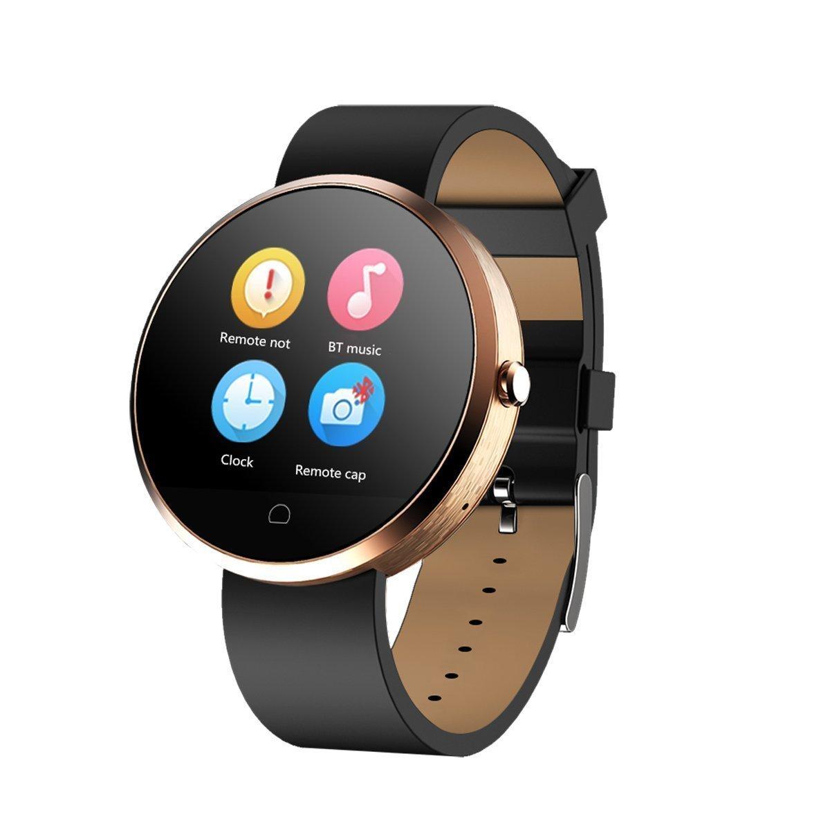 Haier Smartwatch G6 Pulsera con Pantalla T¨¢ctil Selfie Anti Perderse con Bluetooth conectable con Smartphone llamada Sync, Music Sync, mensaje ...