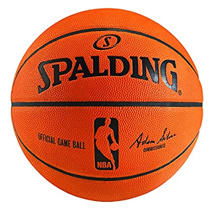 Image of Basketballs Spalding NBA Official Game Ball Basketball (2014) with Retail Packaging