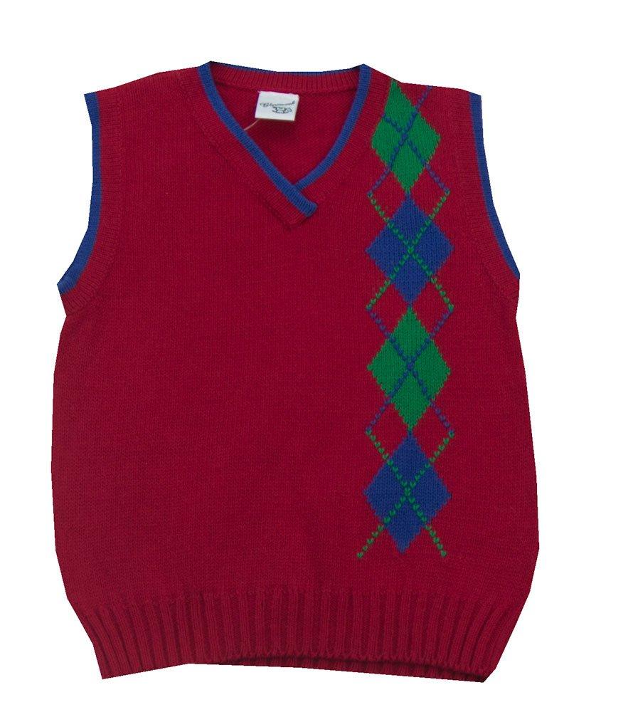 Glorimont Argyle Sweater Vest- Boy's Size 10