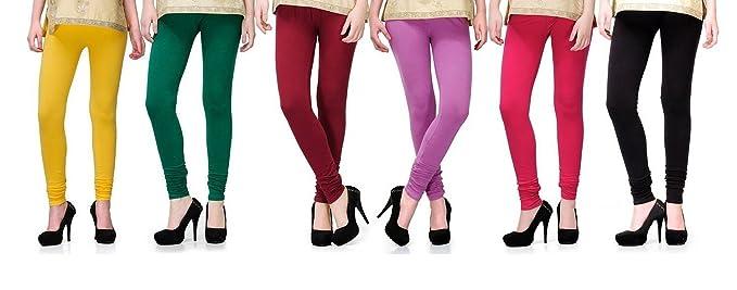 2day womens cotton legging 2de pck6 091 multi coloured medium 2days cotton lycra legging ybgmvfb pack of 6 fandeluxe Image collections