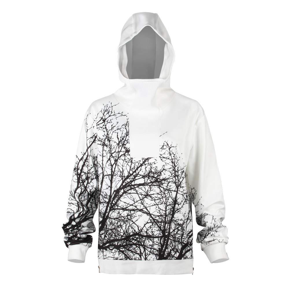URVIP Unisex Patterns Print Athletic Sweaters Fashion Hoodies Sweatshirts BEU-003 XXL by URVIP