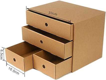 FELICIKK DIY Papel Escritorio Caja de Almacenamiento Estudiante de Oficina Cuadro de clasificación Combinación Libre Archivo de cajones de múltiples Capas (Color : Paper A): Amazon.es: Hogar