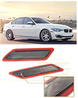 Amazon com: iJDMTOY Smoked Lens Rear Bumper Reflector Lenses For BMW