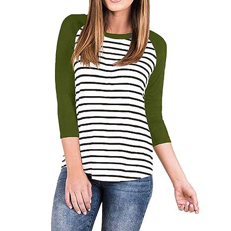 3a16429ea LILICAT✈✈ Mujeres Ropa para Las Mujeres Embarazadas Maternidad EnfermeríA  Lactancia Top Camiseta Blusa Mujer