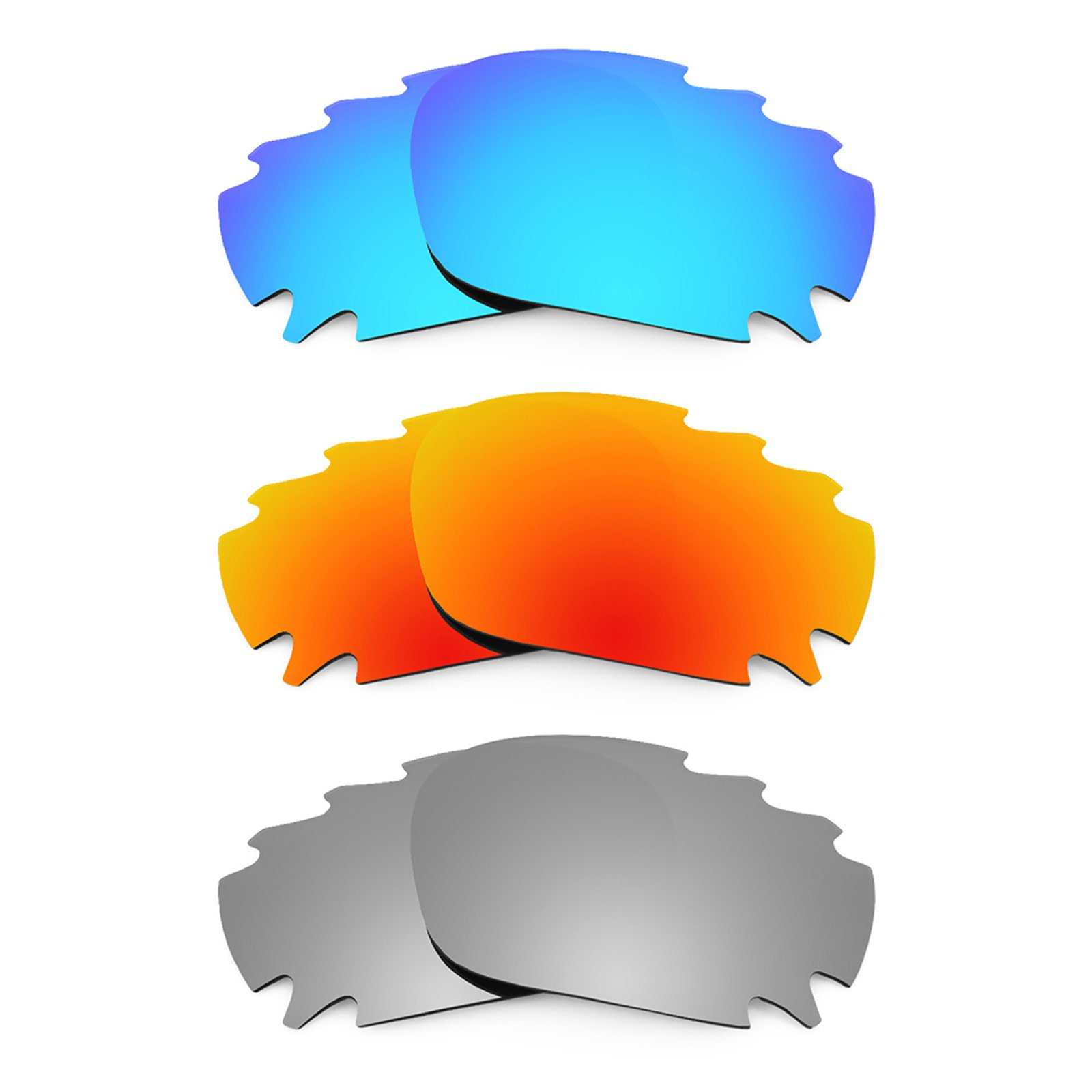 Revant Vented Replacement Lenses for Oakley Jawbone 3 Pair Combo Pack K014