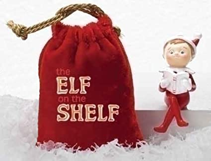 Image result for miniature elf on the shelf