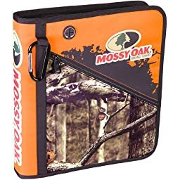 Mossy Oak Camo Zipper Binder