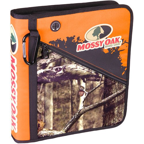 Mossy Oak Camo Zipper Binder (Camo Binder Big)
