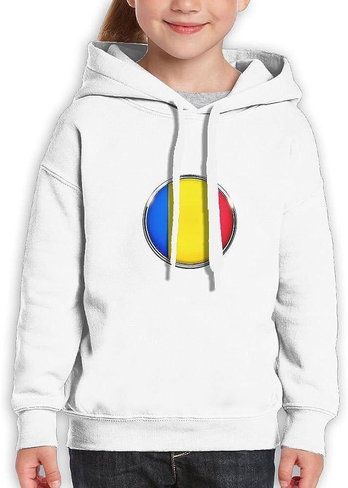 DTMN7 Romania 2018 Style Printed 100/% Cotton Hoodie For Kids Spring Autumn Winter
