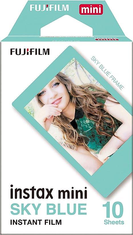 Amazon.com: Fujifilm Instax Mini Sky Azul película de ...