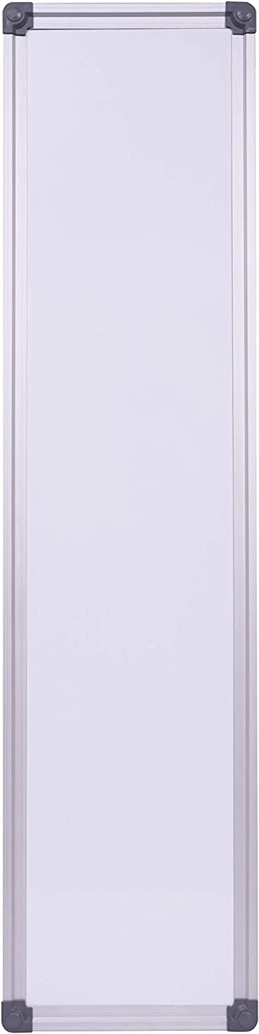 Maven Slim Skinny Whiteboard Dry Erase to-do List Narrow Mini Small Office Wall Portable Magnetic Tall Dry Erase Board Frame