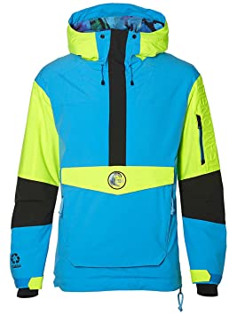 O Neill Frozen Wave Anorak Jacket Snow, Hombre, 8P0010, Black out,