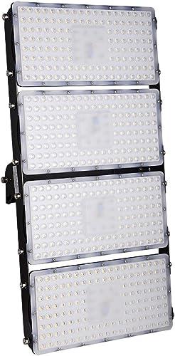 LED Flood Light, chunnuan,400W LED floodlights 36000LM Warm White 2800-3200K Outdoor Waterproof IP65 Super Bright Flood Lamp Security Light Spotlight Lamp for Outdoor Garage,Garden,Yard