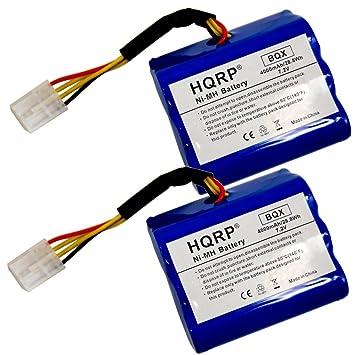 HQRP Dos baterías para NEATO XV-11, XV-12, XV-14