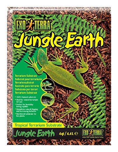 Exo Terra Exo Terra Jungle Earth Terrarium Substrate, 4.4 L (4 Qt)