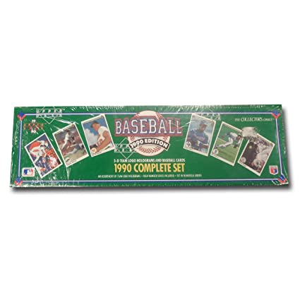 Mlb 1990 Upper Deck Factory Set