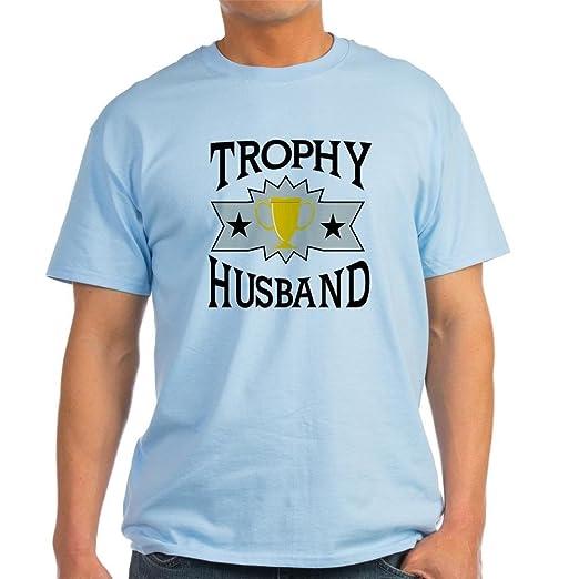49e0e94d1 Amazon.com: CafePress Trophy Husband Light T-Shirt Cotton T-Shirt ...