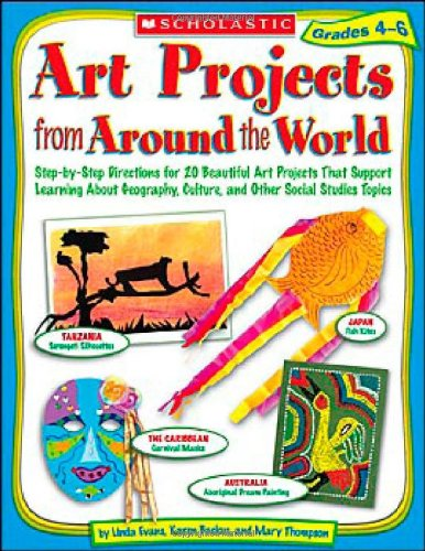 (Art Projects from Around the World: Grades 4-6: Step-by-step Directions for 20 Beautiful Art Projects That Support Learning About Geography, Culture, and Other Social Studies Topics)