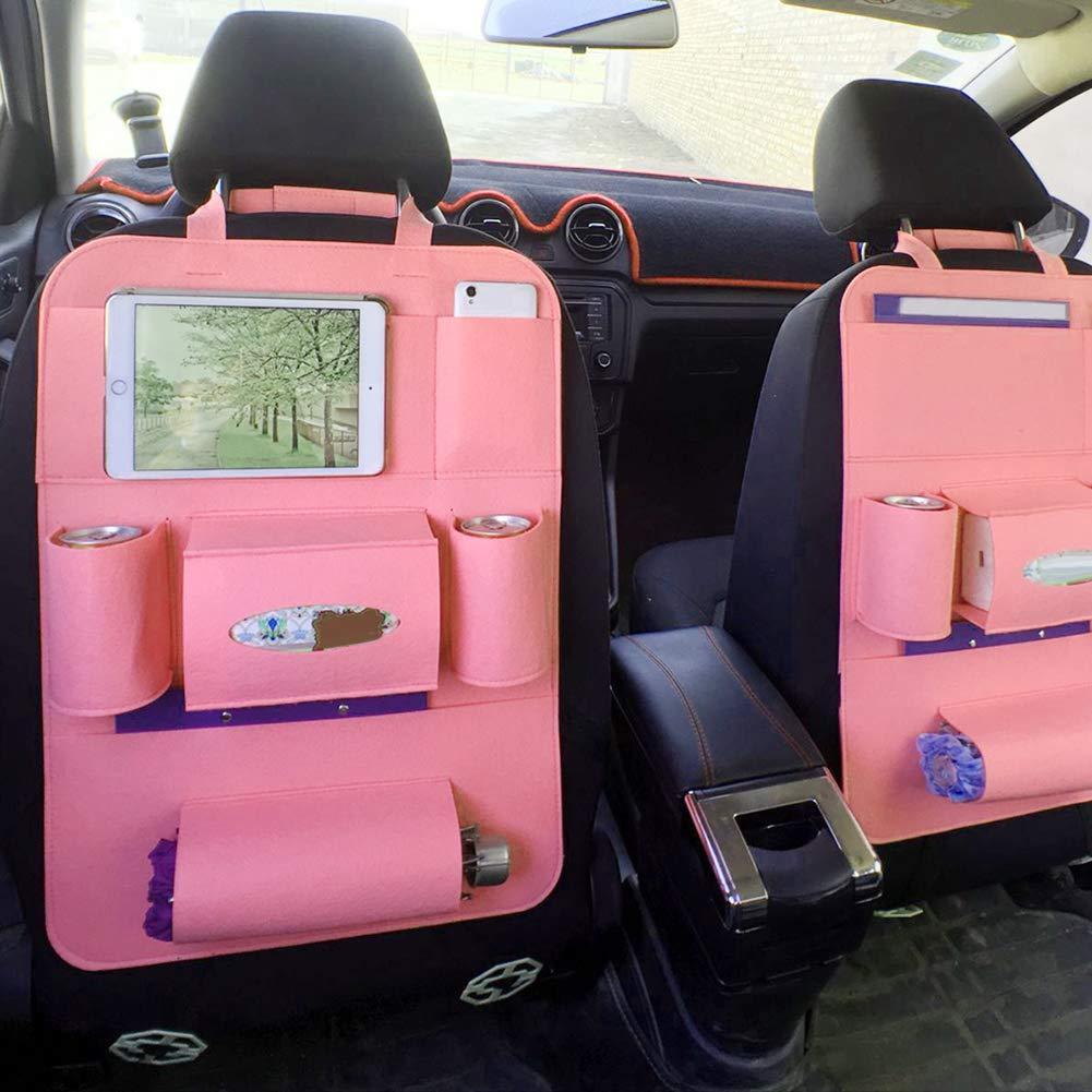7bb41a0575d1 YUSHHO56T Car Seat Back Bag Interior Storage Storage Pouch Auto Car ...