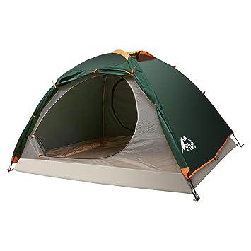 CAMEL CROWN Zelt Leichtbau Trekkingzelt Sonnenschutz 3.06KG Familienzelt 2-Personen mit 1 Kind F/ür Camping Outdoor Park Feldkoch