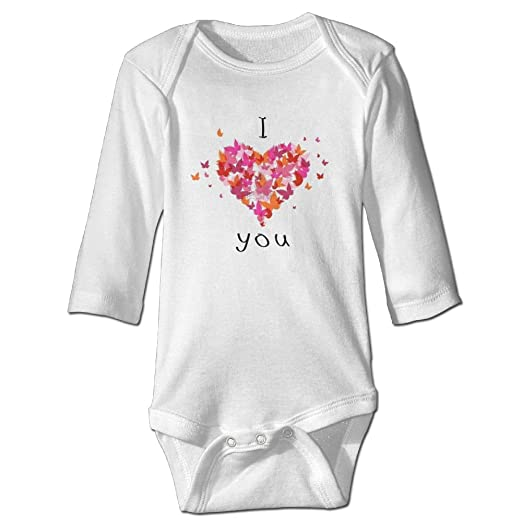 Amazoncom I Love You Wishes And Greeting Newborn Baby Rompers Baby