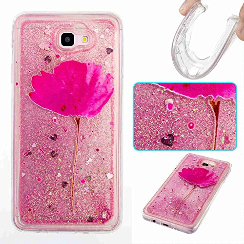 Galaxy J7 V / J7 2017 / J7 Prime / J7 Perx / J7 Sky Pro / Galaxy Halo Case, Fisel Quicksand Moving Sand Flowing Liquid Defender Bumper Bling Glitter Sparkle Hard Case For Apple Samsung Galaxy J7 2017 (Pelican Car)
