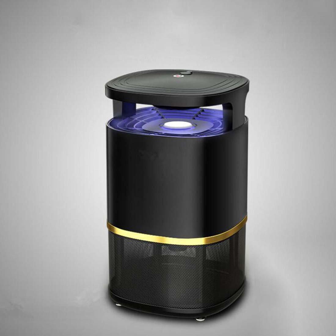 Repellente per insetti Mosquito Killer fotocatalizzatore, LED Smart Control USB Mosquito Killer, casa Incinta e Baby Mosquito Killer 19.0 Cm  19.0 Cm  26.0 Cm (colore   Nero)