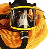 1set Techtongda 10M Long Tube Pipe Full Face Gas Mask Air Respirator with Cartridge(Item#110113)