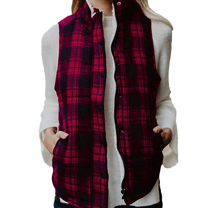 Linlink Chaqueta de Mujeres Cuello Alto suéter sin Mangas Jersey Blusa Camisas Abrigo Sudadera Outwear: Amazon.es: Ropa y accesorios