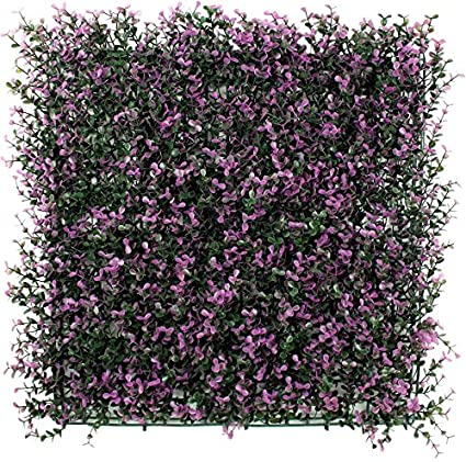 ULAND Artificial Boxwood Hedge Mat, Privacy Fence Screen, Outdoor Garden  Wall Decoration, 20u0026quot