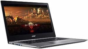 "2017 Acer Business Flagship Swift 3 Laptop PC 14"" FHD IPS 1080p Display Intel i5-7200U Processor 8GB DDR4 RAM 256GB SSD 802.11AC HDMI Bluetooth Webcam Windows 10-Silver"