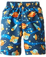 i play. Baby Boys' Colorblock Trunks with Built-In Reusable Absorbent Swim Diaper