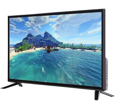 Garsent Smart TV LCD, 32 Pulgadas 2K Full HD Multifuncional LCD Smart TV Compatible con USB, HDMI, AV Función WiFi incorporada TV HDR LCD.(EU): Amazon.es: Electrónica