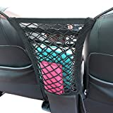 "Cargo Net - Car Organizer Dual Layer Mesh Organizer, [12.6""x11""] Car Pet Barrier - Dog Barrier to Keep Your Pets and Drivers Safety in Travel."