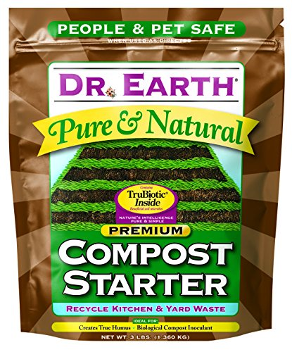Dr. Earth Pure & Natural Compost Starter 3 lb - Garden Compost