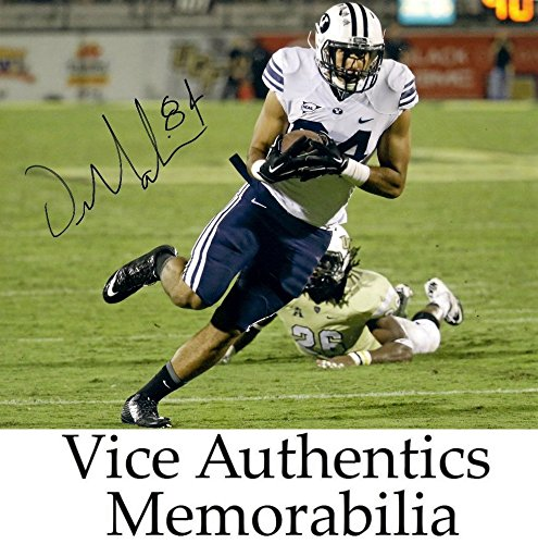 Devin Mehina Signed Autographed Auto BYU Brigham Young Cougars 8x10 Photo Cougar Byu Cougars Photograph
