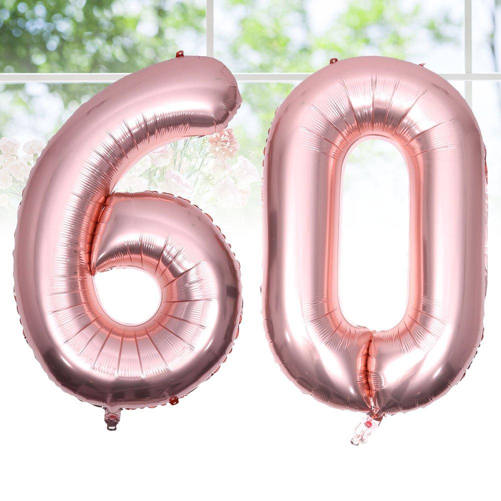 BESTOYARD Número 60 Globo 60 Aniversario Fiesta de ...