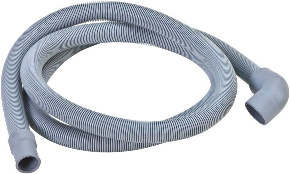 DREHFLEX-Manguera/Tubo de desagüe/suciedad Agua Manguera para diversos modelos de lavavajillas/de lavavajillas AEG/Electrolux/Privileg/Zanussi/Zanker - Apto para piezas de nº 117368030-5/1173680305 …