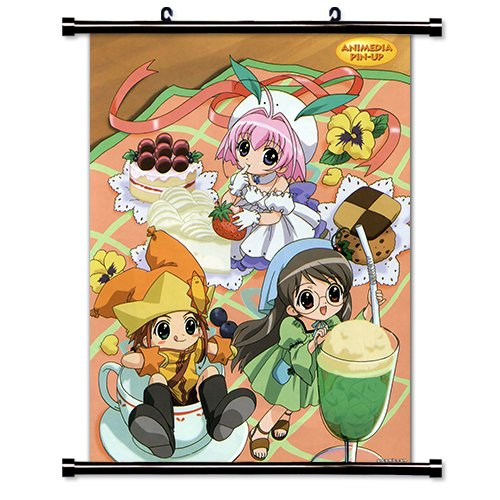 Price comparison product image A Little Snow Fairy Sugar Anime Fabric Wall Scroll Poster (32x43) Inches [ACT]- A Little Snow-12(L)