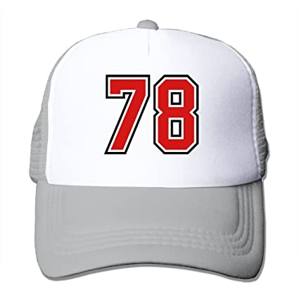 7fa2a355a94 Image Unavailable. Image not available for. Color  Mesh Hat Baseball Cap 78  Sports Jersey ...