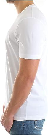 Emporio Armani Hombre Camiseta Bianco Ottico