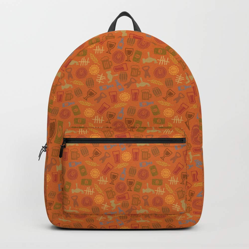 Society6 Backpack, Retro Brew - Colour FIne by dizzy007, Standard Size