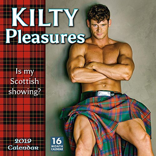2019 Kilty Pleasures 16-Month Wall Calendar: by Sellers Publishing, 12