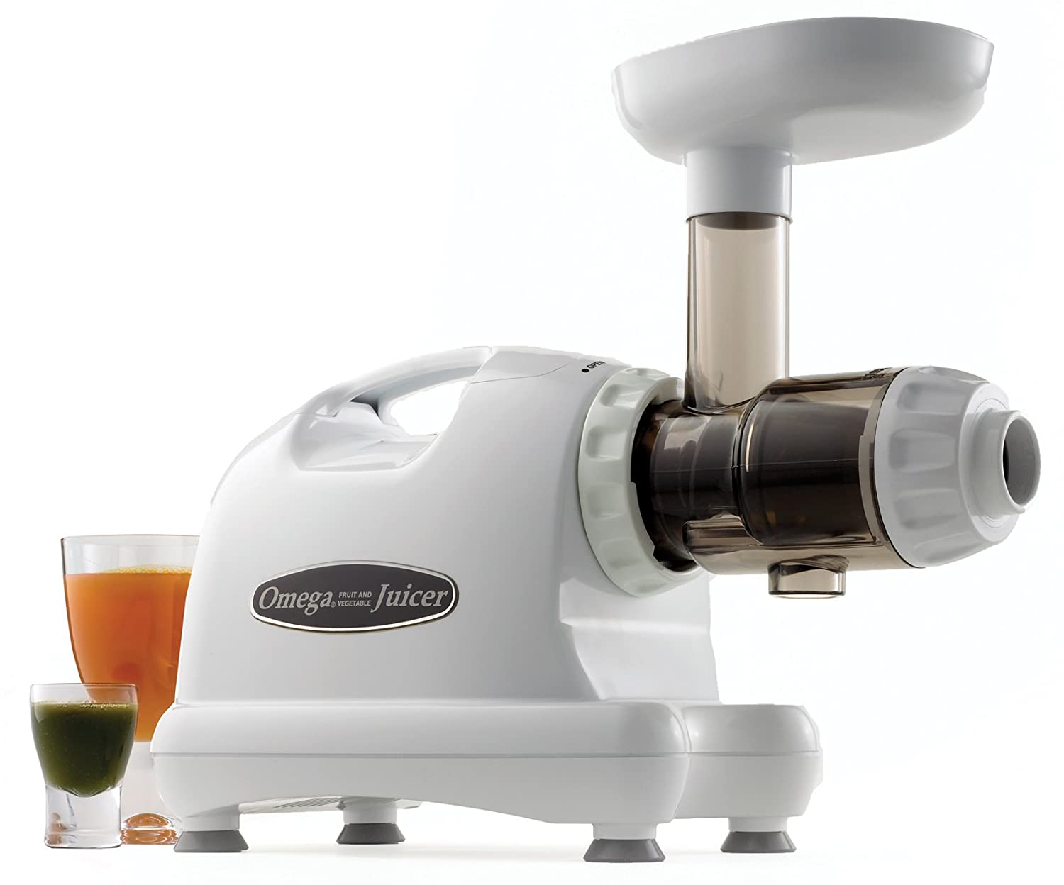 Omega Slow Speed Masticating Juicer, White Discontinued by Manufacturer
