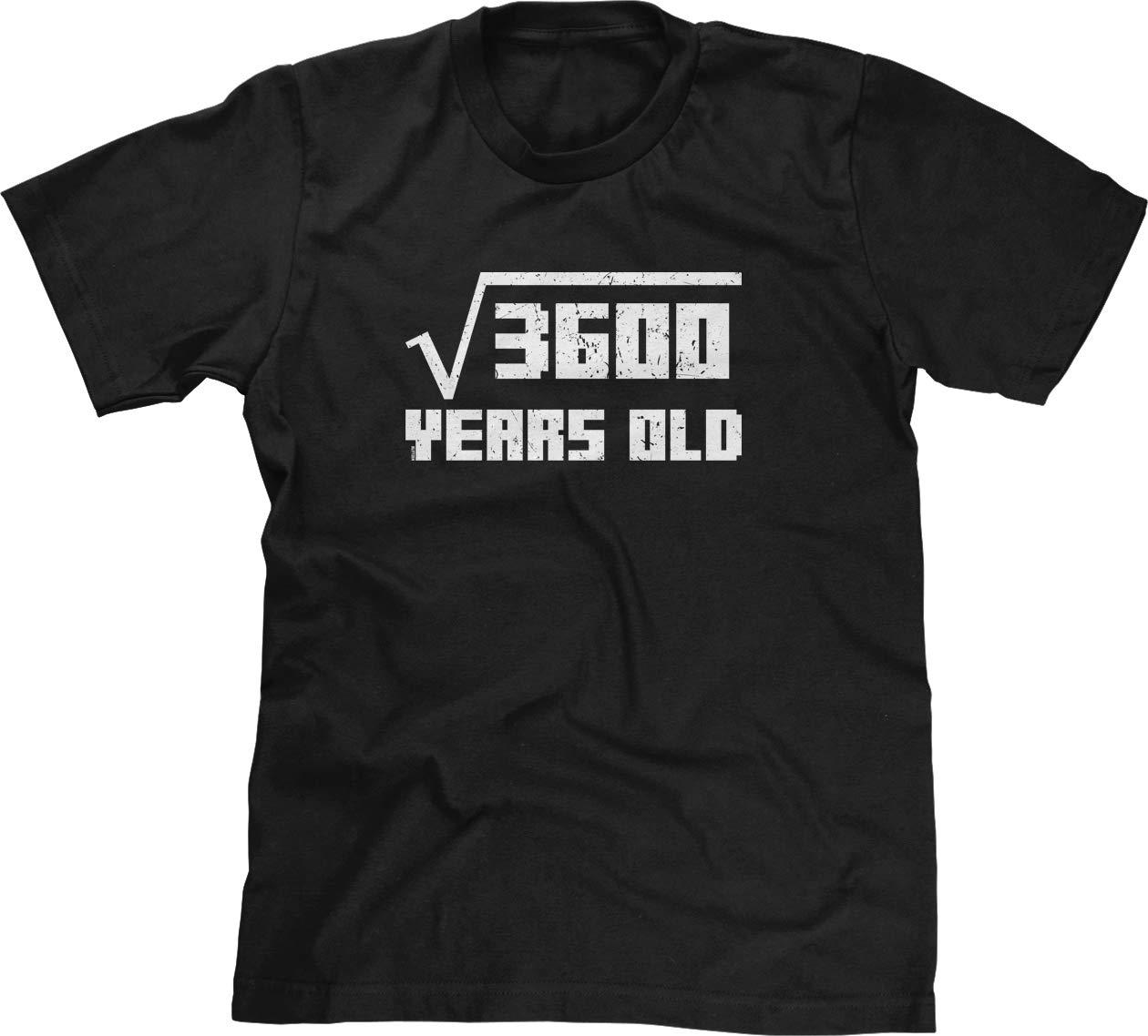 S Tshirt Square Root Of 360060th Birthday