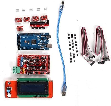 ASHATA Kit de Controlador de Impresora 3D para Arduino Mega 2560 ...