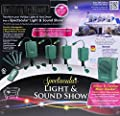 Bluetooth Christmas Holiday Spectacular Light & Sound Show Outdoor Display for iPhone and Android