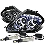 2000 mitsubishi eclipse halo - Mit Eclipse 3G Pair of Angel Eyes Dual Halo Projector Smoked Lens Headlight + H1 LED Conversion Kit